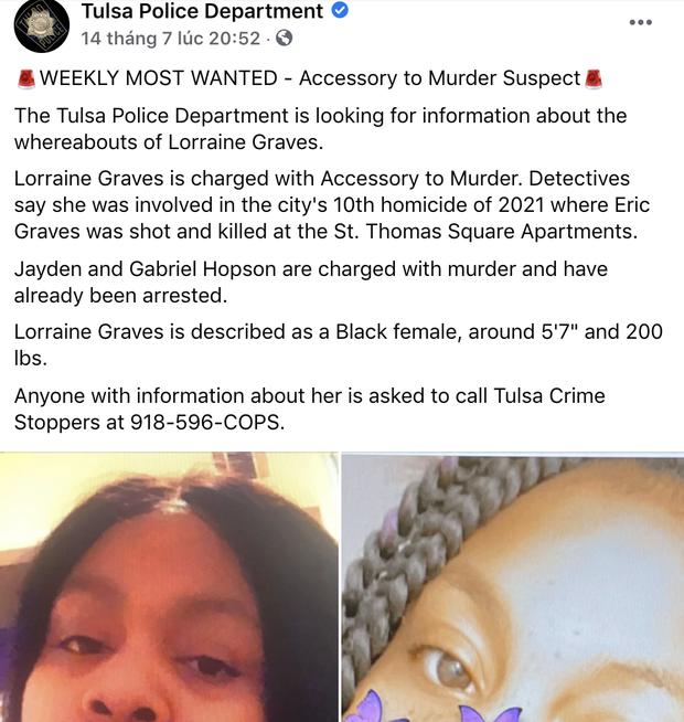 Người đàn ông bị bắn chết 3 tháng trước, cảnh sát truy lùng được nghi phạm chỉ nhờ một comment kỳ lạ của chính cô ta - Ảnh 2.
