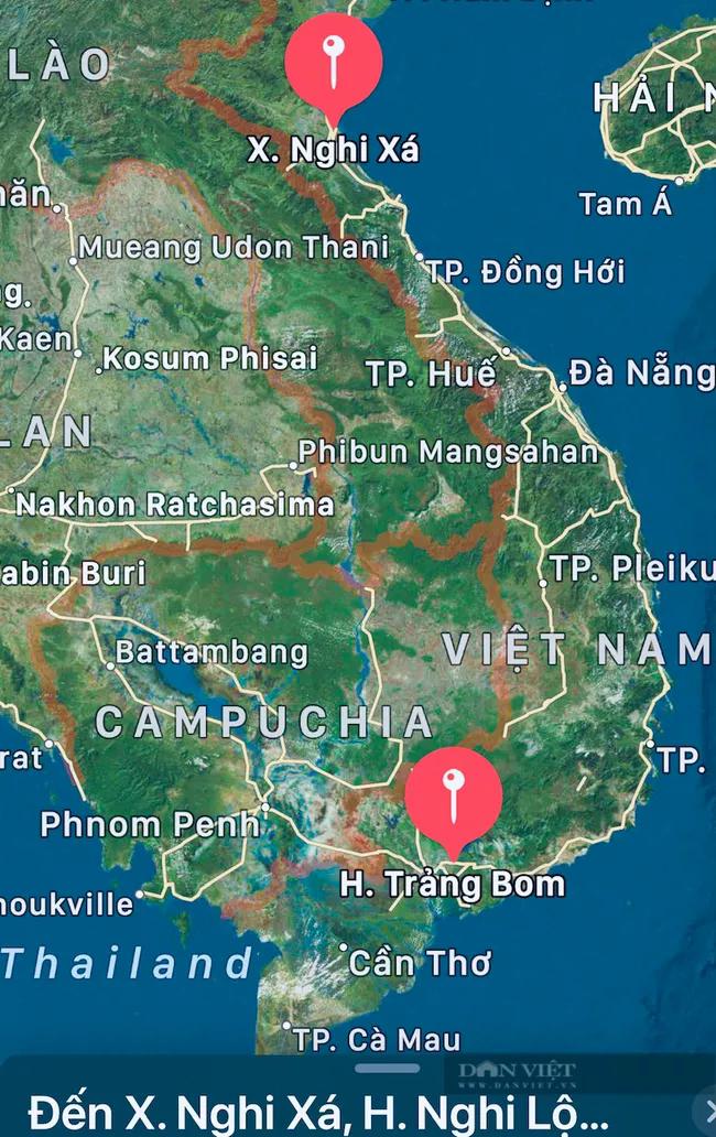 """Bà mẹ cùng 3 con đạp xe từ Đồng Nai về Nghệ An: """"Tôi xin không nhận 10 triệu đồng, dành cho người khác"""" - Ảnh 3."""