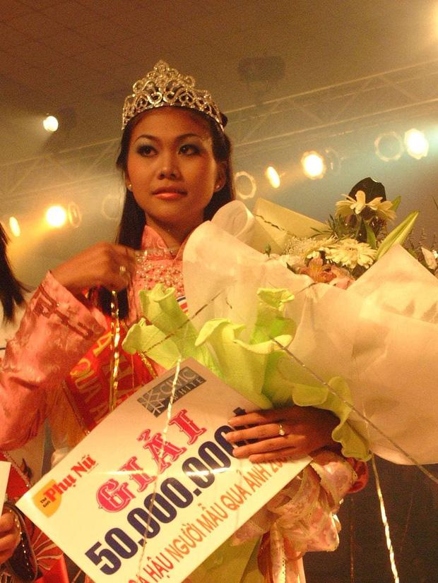 Thanh Hằng thời đăng quang Hoa hậu cách đây gần 20 năm so với hiện tại: Nhan sắc thăng hạng vượt bậc! - Ảnh 2.