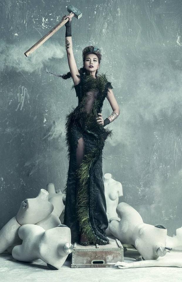 Thanh Hằng thời đăng quang Hoa hậu cách đây gần 20 năm so với hiện tại: Nhan sắc thăng hạng vượt bậc! - Ảnh 5.