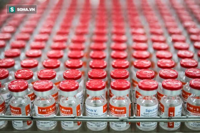 Ảnh: Mục sở thị toàn bộ quy trình đóng lọ vắc xin Sputnik V Nga tại Việt Nam - Ảnh 14.