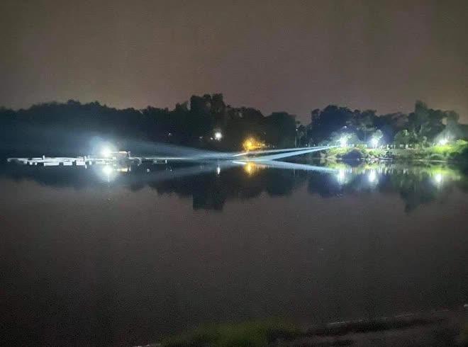 Vụ Phó trưởng công an huyện và Trưởng phòng Văn hóa ở Phú Thọ đuối nước: Đập sâu khoảng 5-8 mét - Ảnh 2.
