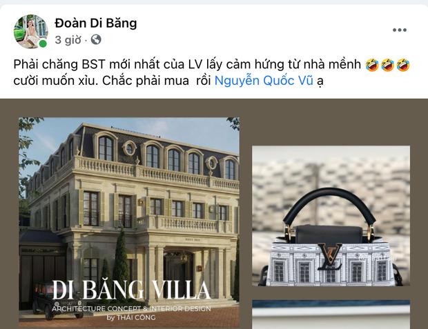 Đoàn Di Băng phát hiện Louis Vuitton nhái toà lâu đài 200 tỷ của Thái Công thiết kế cho mình, ngạc nhiên chưa? - Ảnh 2.