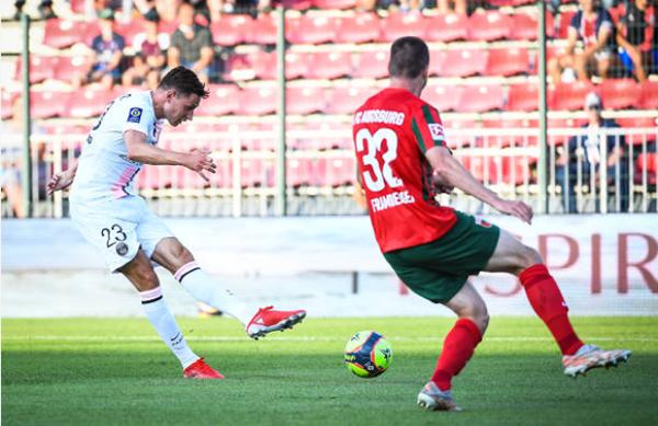 PSG 2-1 Augsburg: Draxler thăng, Icardi xịt - Ảnh 1.