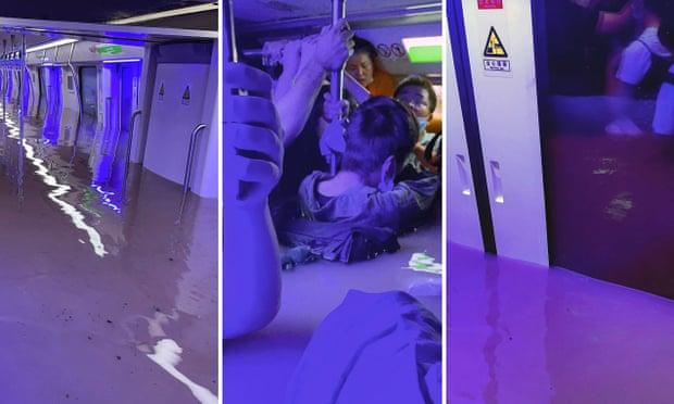 Hành khách kể lại cảnh tượng trên tàu điện ngầm bị chìm trong nước lũ: Ai cao trên 1.8m thì đứng dưới sàn, thấp hơn leo lên ghế nhưng vẫn suýt chết - Ảnh 1.