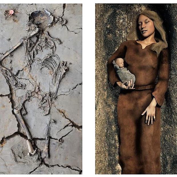 Phát hiện ngôi mộ 6.000 tuổi, các nhà khoa học kinh ngạc khi thấy cảnh tượng chưa từng thấy, hé lộ điều thú vị về trẻ sơ sinh ngàn đời trước - Ảnh 3.