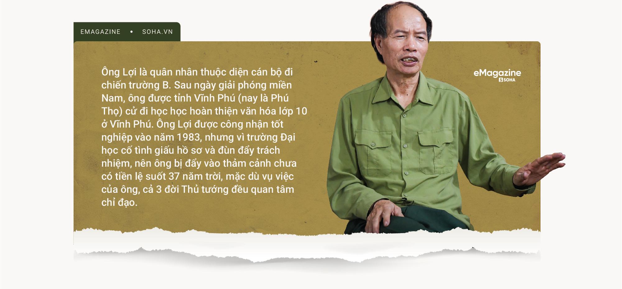 Người đàn ông 37 năm bị cướp mất cuộc đời và sự vào cuộc của 3 đời Thủ tướng - Ảnh 2.