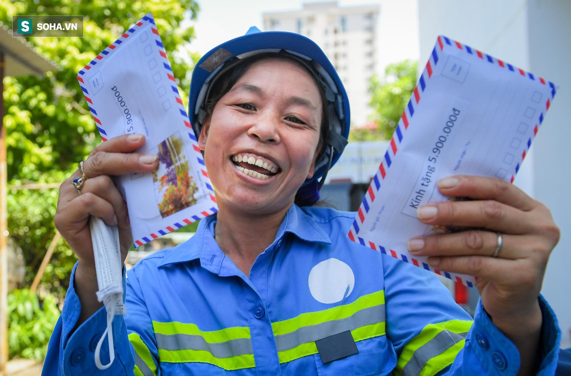 Cử nhân Triết học đi quét rác bị nợ lương: Hạnh phúc vì có nhiều người giúp đỡ, BTV Ngọc Trinh sẽ trả tiền học cho con - Ảnh 6.