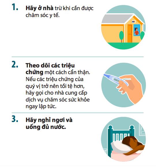 10 điều cần làm để kiểm soát các triệu chứng Covid-19 dành cho F0 đang cách ly tại nhà - Ảnh 2.