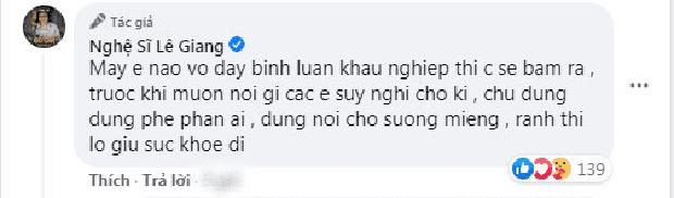 Bị chỉ trích vì làm clip chế diễn viên Kim Ngân, Lê Giang đáp trả khán giả cực gắt nhưng có hợp lý? - Ảnh 3.