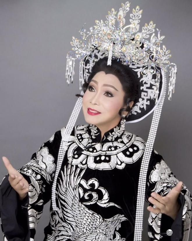 NSND Bạch Tuyết hé lộ về nghệ sĩ Kim Phượng vừa qua đời vì Covid 19 - Ảnh 1.