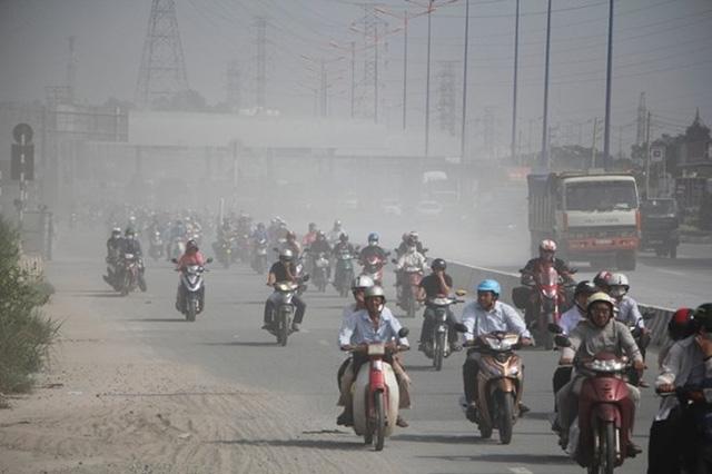 Tuổi thọ người Hà Nội giảm 2,49 năm vì ô nhiễm bụi mịn - Ảnh 1.