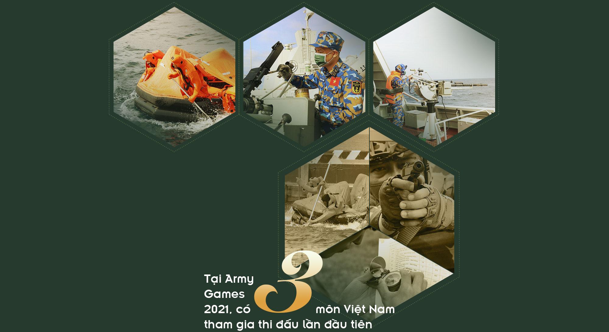 [PHOTO ESSAY] Army Games 2021: Hành trình quyết thắng của đội tuyển QĐND Việt Nam qua 12 con số đặc biệt - Ảnh 3.