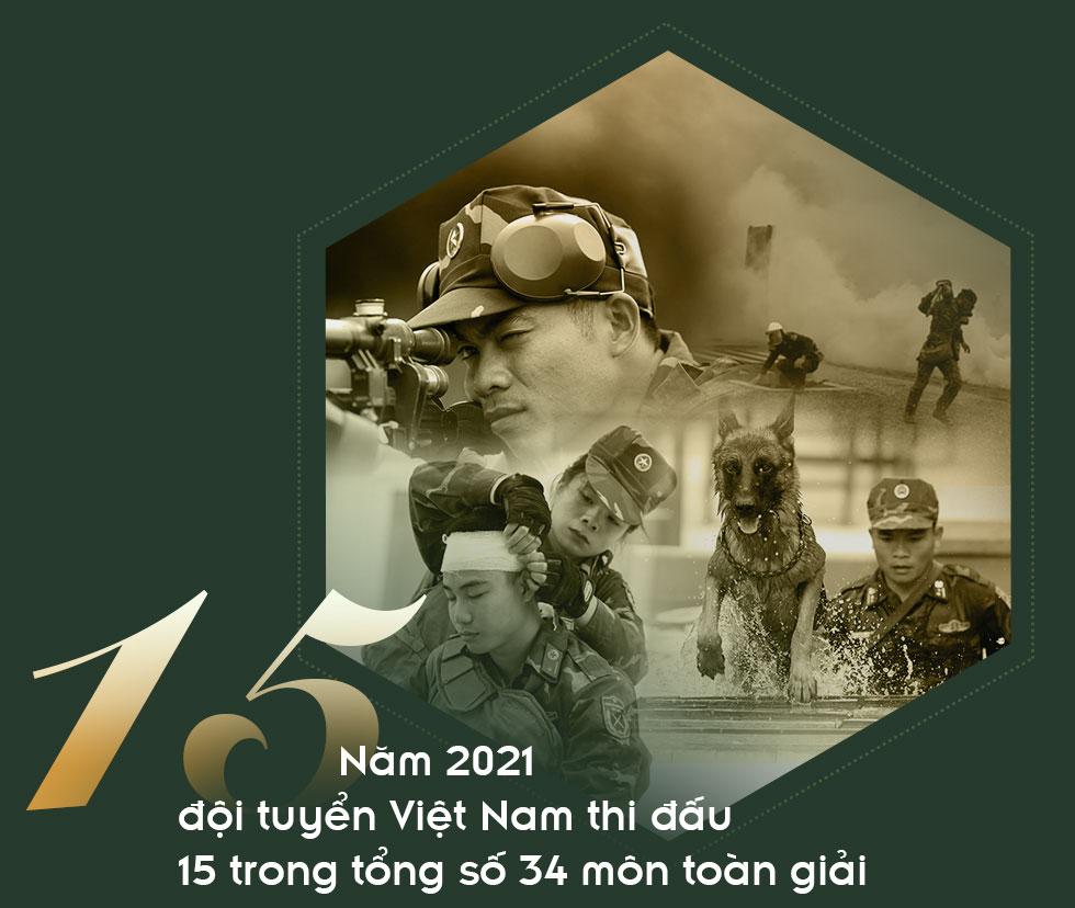 [PHOTO ESSAY] Army Games 2021: Hành trình quyết thắng của đội tuyển QĐND Việt Nam qua 12 con số đặc biệt - Ảnh 7.