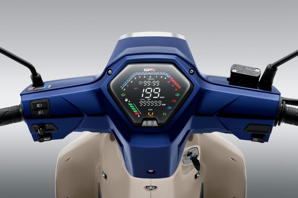 """Xe máy Thái """"bản sao"""" Honda Dream ra phiên bản mới, công nghệ xịn kèm giá 27 triệu đồng - Ảnh 3."""