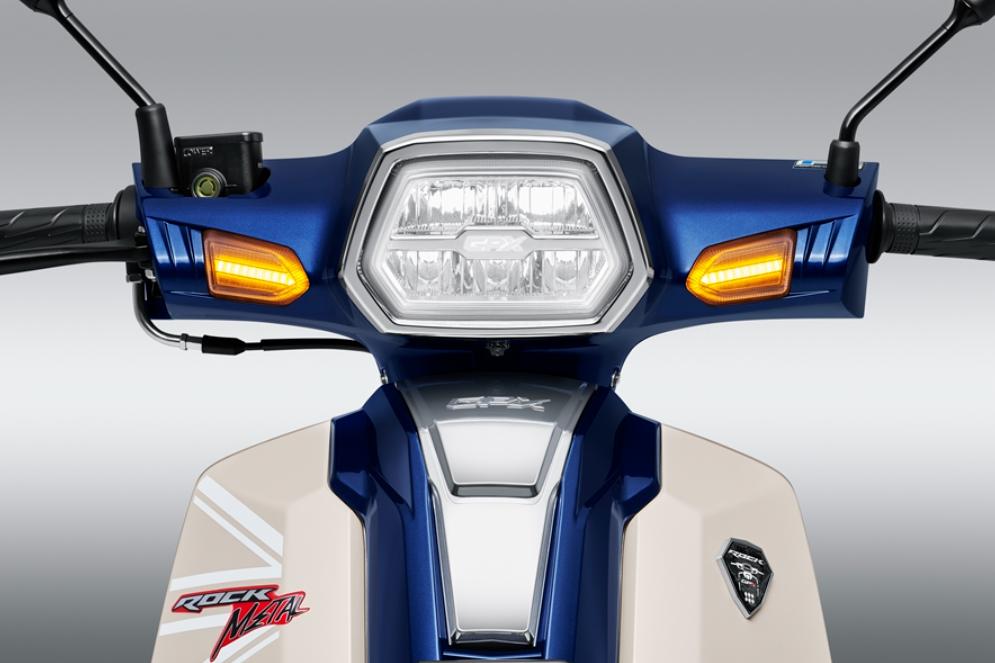"""Xe máy Thái """"bản sao"""" Honda Dream ra phiên bản mới, công nghệ xịn kèm giá 27 triệu đồng - Ảnh 2."""