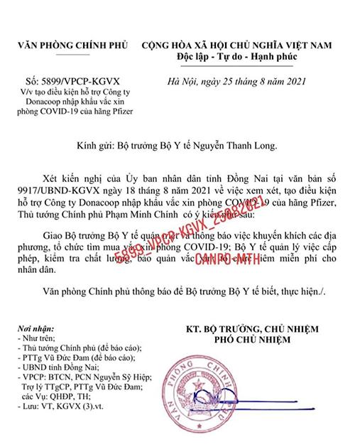 Chân dung ông lớn ở Đồng Nai nhập khẩu 15 triệu liều vắc xin Pfizer - Ảnh 1.