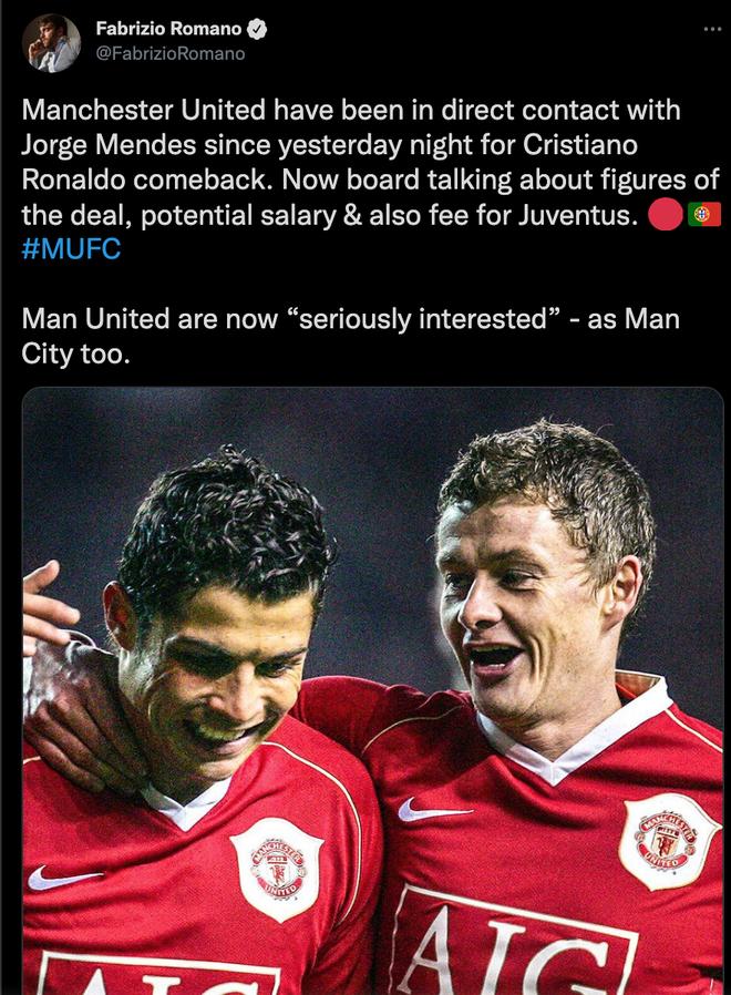 CẬP NHẬT: Ronaldo chính thức trở về Man United với bản hợp đồng 2 năm - Ảnh 5.