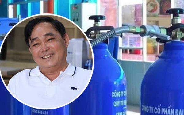 Doanh nhân Huỳnh Uy Dũng: Tôi âm thầm đặt hàng 50.000 bình oxy cách đây 3 tháng, nếu bán có khi lãi cả trăm tỷ, nhưng tôi không làm điều đó, tôi chia sẻ hơi thở với đồng bào mình - Ảnh 1.