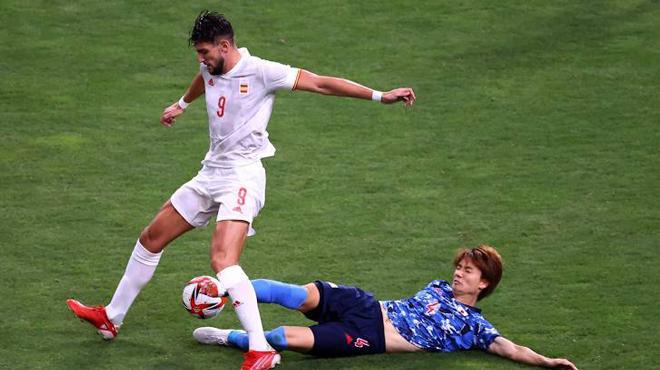 Tây Ban Nha kết liễu Nhật Bản bằng siêu phẩm ở hiệp phụ, thẳng tiến vào chung kết Olympic - Ảnh 2.