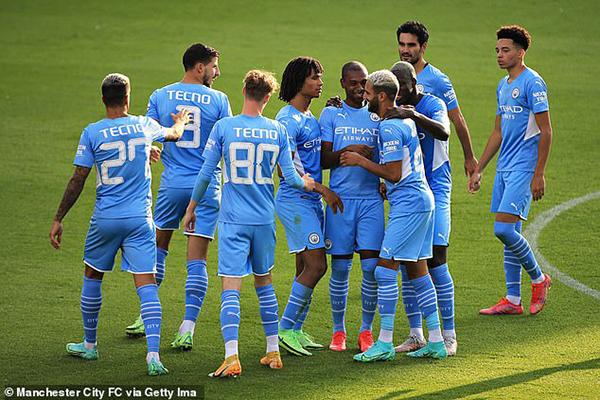 Man City 4-1 Blackpool: Ngày của Gundogan - Ảnh 1.