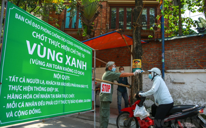 Thường trực Thành ủy Hà Nội nhất trí giãn cách xã hội thêm 15 ngày