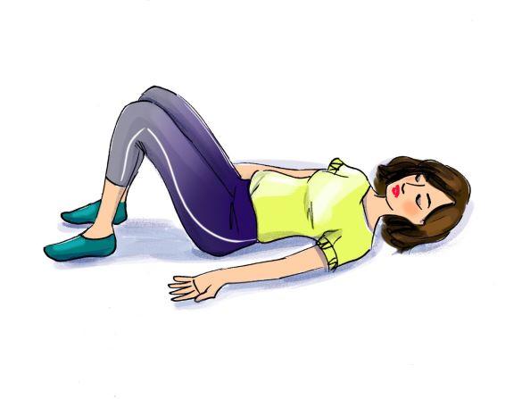 5 bài tập hiệu quả cho vùng bụng - Ảnh 3.