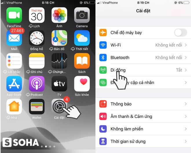 Cách phát WiFi từ điện thoại iPhone và Android nhanh, đơn giản nhất - Ảnh 1.