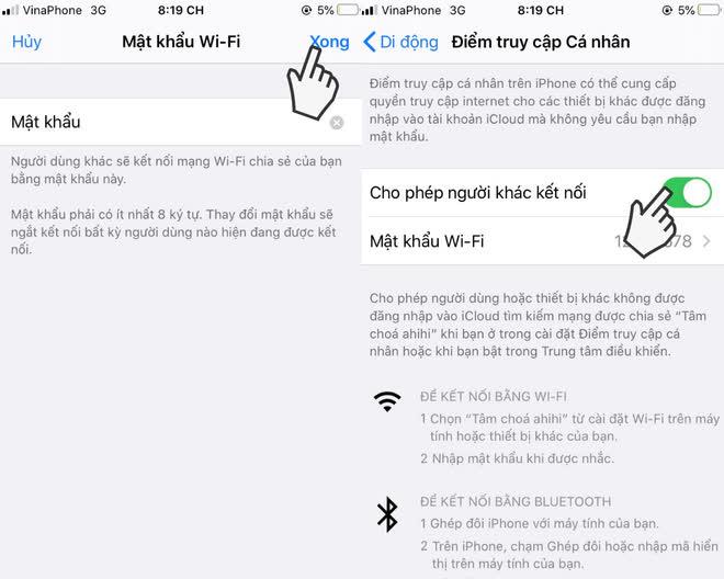 Cách phát WiFi từ điện thoại iPhone và Android nhanh, đơn giản nhất - Ảnh 4.