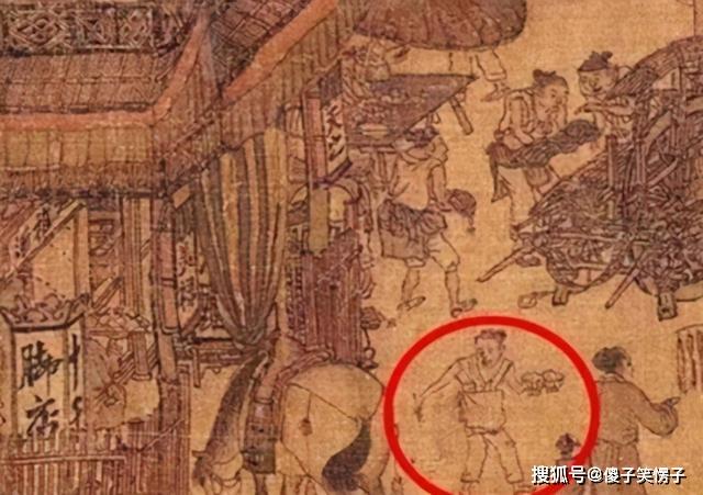 Phóng to 10 lần bức họa trong Bảo tàng Cố Cung, hậu thế ngỡ ngàng vì một nhân vật: Có phải anh shipper không? - Ảnh 2.