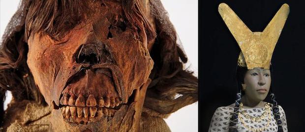 Tái hiện khuôn mặt quý bà từ xác ướp như quái vật, các nhà khoa học ngỡ ngàng nhan sắc người phụ nữ sống cách đây 1.600 năm - Ảnh 3.