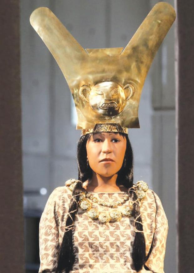 Tái hiện khuôn mặt quý bà từ xác ướp như quái vật, các nhà khoa học ngỡ ngàng nhan sắc người phụ nữ sống cách đây 1.600 năm - Ảnh 4.