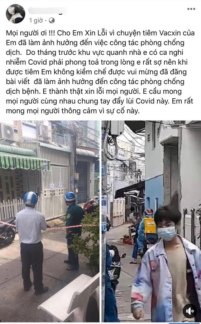 Diễn biến nóng vụ cô gái được tiêm vắc xin nhờ ông anh: Đình chỉ phó chủ tịch phường - Ảnh 2.