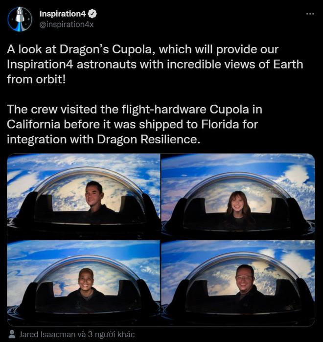 Ngắm nhìn Trái Đất và vũ trụ từ ý tưởng tàu vũ trụ Dragon Cupola mới của SpaceX - Ảnh 4.