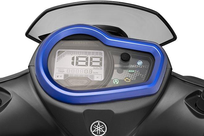 Xe máy mới của Yamaha giá 23,7 triệu, tiết kiệm xăng, cốp 21 lít và có kết nối bluetooth - Ảnh 3.