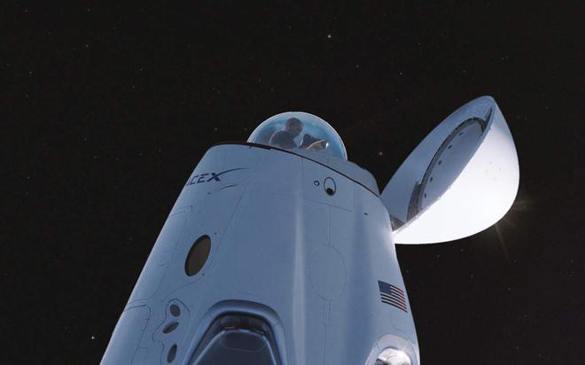 Ngắm nhìn Trái Đất và vũ trụ từ ý tưởng tàu vũ trụ Dragon Cupola mới của SpaceX - Ảnh 2.