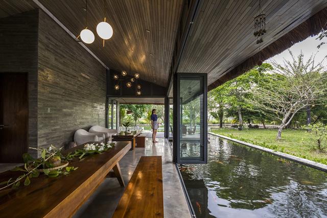 Giám đốc marketing về miền Tây xây biệt thự nhà vườn hệt như một ốc đảo riêng tư, có cả hồ cá Koi ngắm mà ghen tị - Ảnh 10.