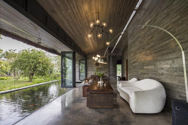 Giám đốc marketing về miền Tây xây biệt thự nhà vườn hệt như một ốc đảo riêng tư, có cả hồ cá Koi ngắm mà ghen tị - Ảnh 7.