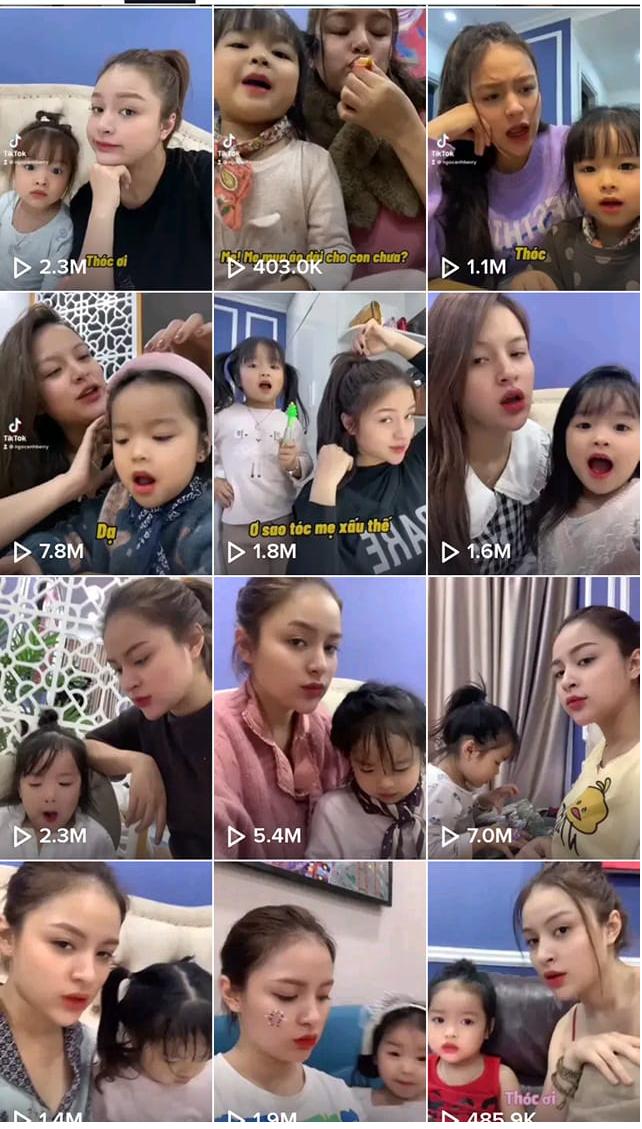Con gái Duy Nam: 5 tuổi đã là TikToker triệu view - Ảnh 3.