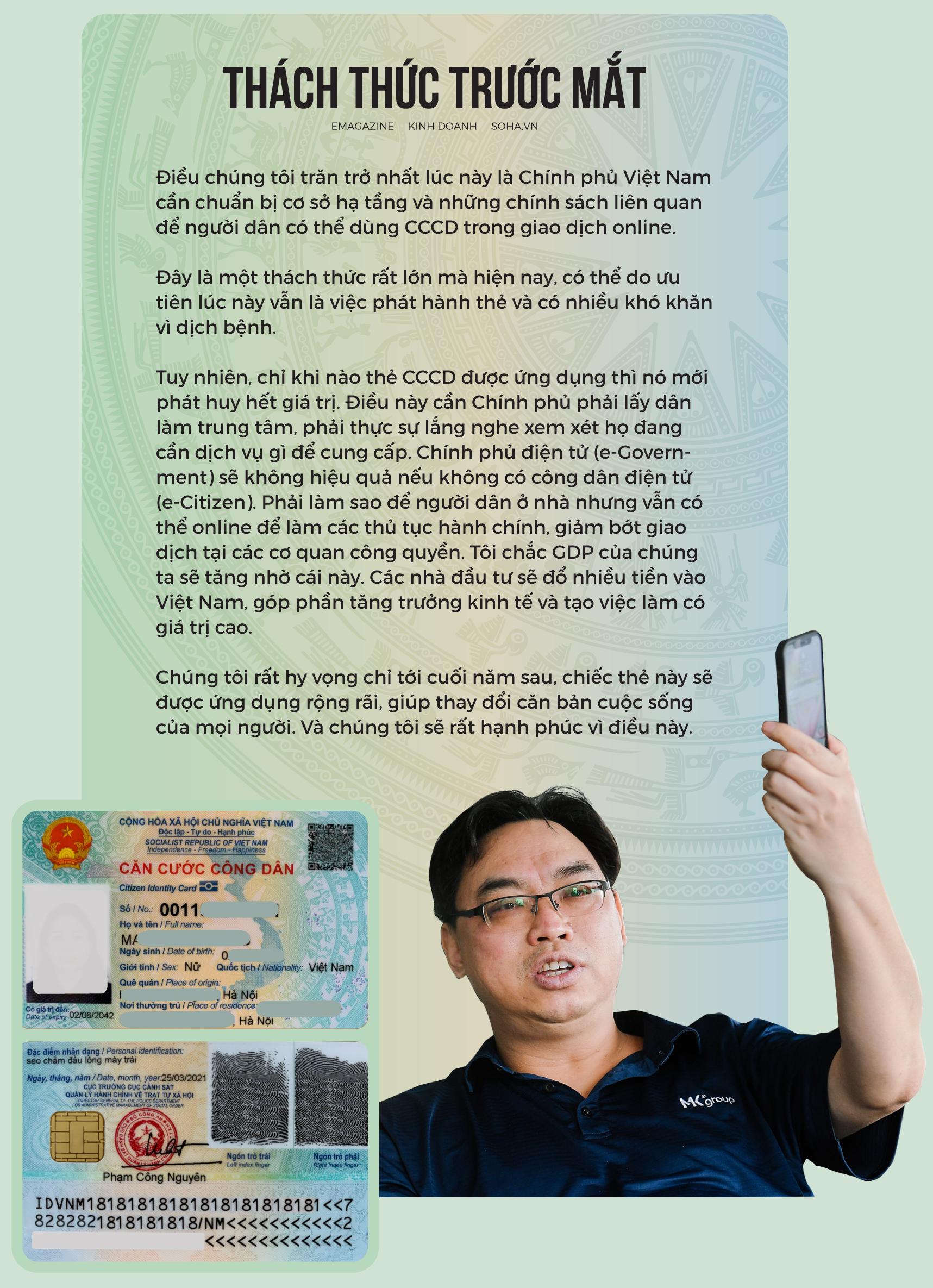 18 năm vật vã của Chủ tịch MK Group và chiếc thẻ CCCD Việt Nam giá rẻ bằng 1/2 Nhật Bản - Ảnh 13.