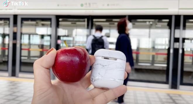 Cô gái Việt ở Hàn Quốc hớn hở vì mua được táo rẻ bèo, không ngờ đã bị cách tính cân của xứ sở kim chi đánh lừa - Ảnh 2.