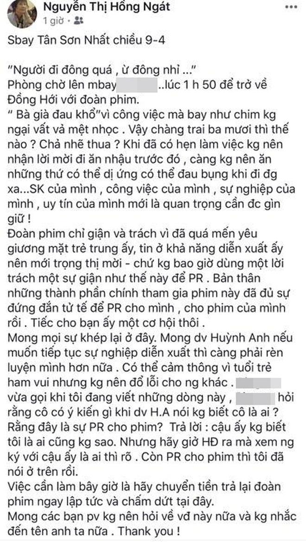 7749 phốt căng đét của Huỳnh Anh: Bị tố quỵt tiền bùng vai, phát ngôn đăng ảnh phản cảm và hơn thế nữa - Ảnh 12.