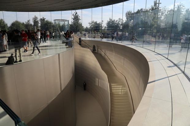 Cận cảnh Apple Park: Văn phòng đẹp nhất thế giới trị giá 5 tỷ USD, nơi tổ chức buổi ra mắt iPhone 13 đêm nay! - Ảnh 13.