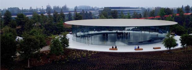 Cận cảnh Apple Park: Văn phòng đẹp nhất thế giới trị giá 5 tỷ USD, nơi tổ chức buổi ra mắt iPhone 13 đêm nay! - Ảnh 4.