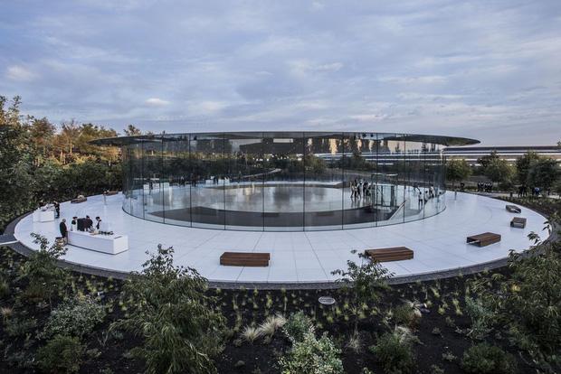 Cận cảnh Apple Park: Văn phòng đẹp nhất thế giới trị giá 5 tỷ USD, nơi tổ chức buổi ra mắt iPhone 13 đêm nay! - Ảnh 7.