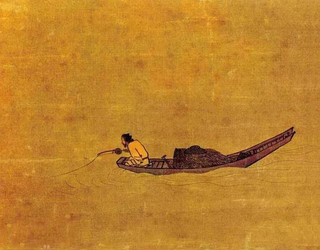 Phóng to 10 lần bức tranh của danh họa đời Tống, nhìn vào chiếc cần câu, hậu thế giật mình kinh ngạc - Ảnh 2.