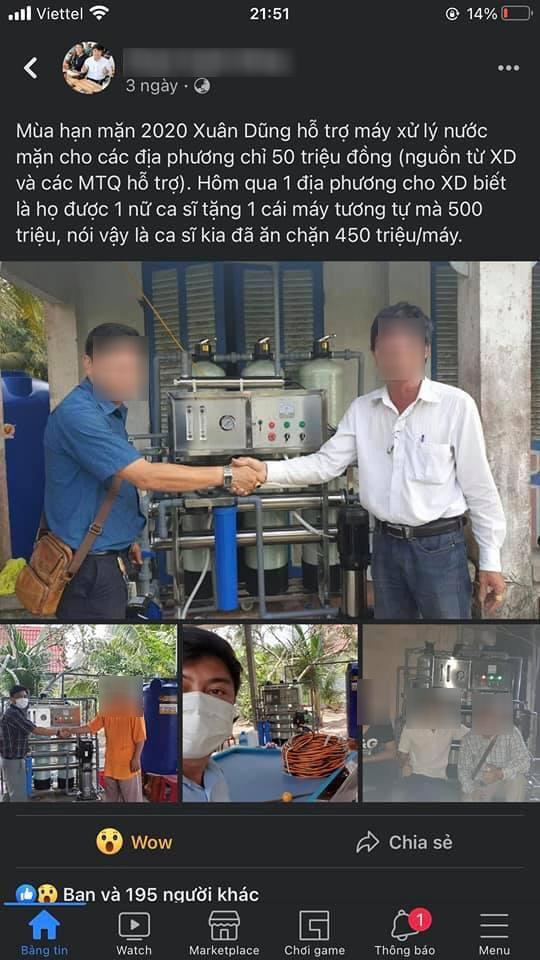 Ồn ào đôn giá máy lọc nước 450 triệu/chiếc, Thủy Tiên đã mang loại nào đi từ thiện? - Ảnh 1.