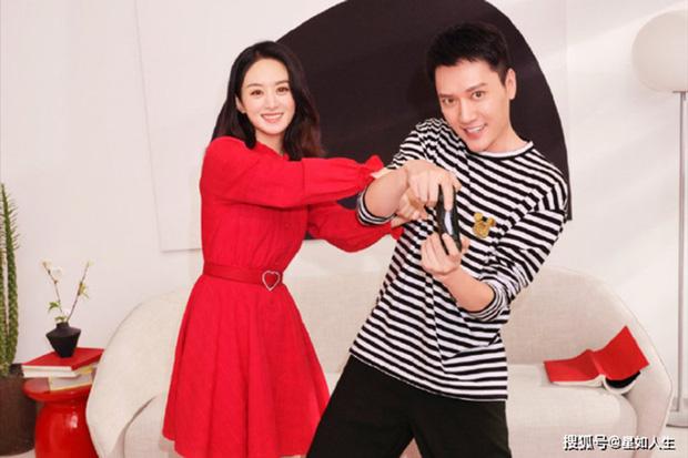 Xôn xao tin Triệu Lệ Dĩnh muốn tái hôn với Phùng Thiệu Phong, ai dè nhận được phản ứng bất ngờ từ chồng cũ? - Ảnh 1.