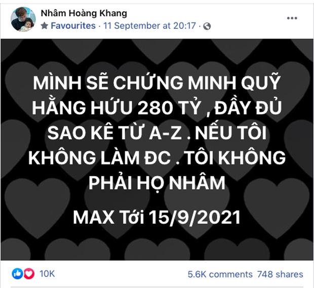 Lật tẩy hàng loạt chiêu trò mà cậu IT Nhâm Hoàng Khang sử dụng để lách luật trước giờ công khai sao kê - Ảnh 1.