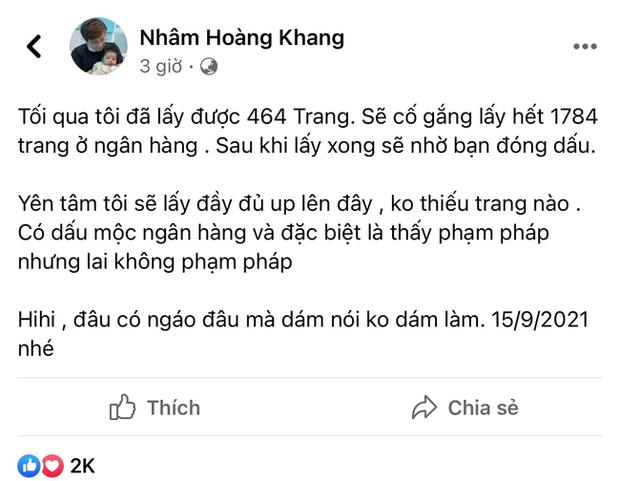 Lật tẩy hàng loạt chiêu trò mà cậu IT Nhâm Hoàng Khang sử dụng để lách luật trước giờ công khai sao kê - Ảnh 2.